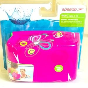 NWT,Speedo Kids Ages 2-12 Fabric  Armbands